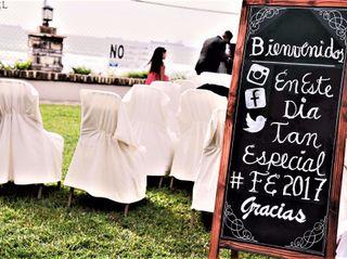 La boda de Elizabeth Ramirez  y Fabian Gutierrez 3