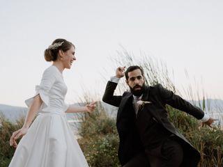 La boda de Andrea y Rafic