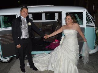 La boda de Stephany y Román