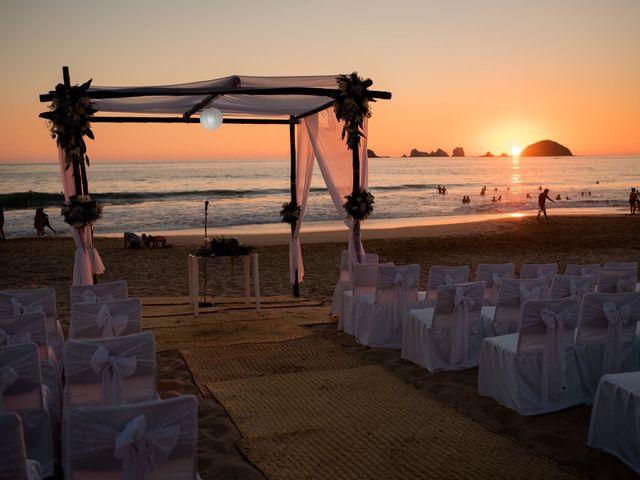 La boda de Marco  y Jocelyn  en Ixtapa Zihuatanejo, Guerrero 7
