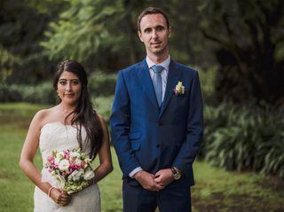 La boda de Gisel y Mickaël