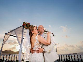 La boda de Rocío y Brad