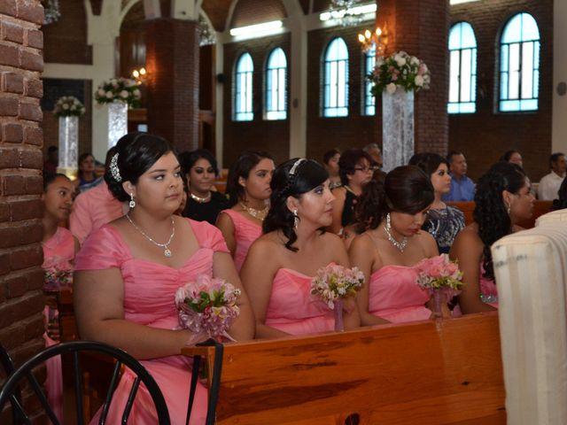 La boda de Diego y Blanca en Gómez Palacio, Durango 4