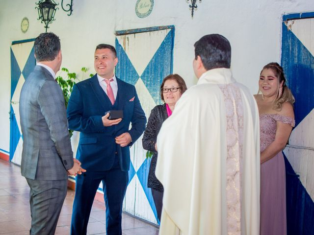 La boda de Miguel y Mishell en Naucalpan, Estado México 12