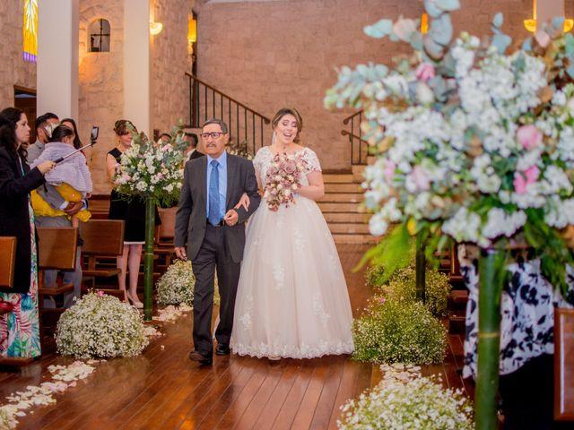 La boda de Miguel y Mishell en Naucalpan, Estado México 1