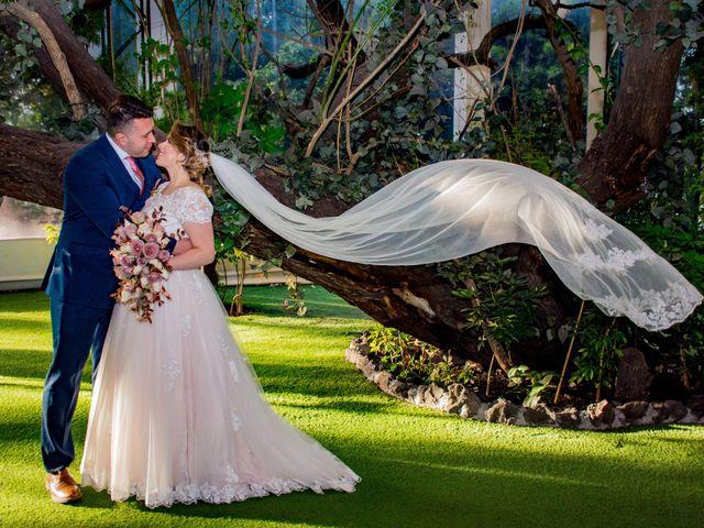 La boda de Miguel y Mishell en Naucalpan, Estado México 2