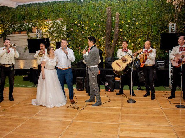 La boda de Miguel y Mishell en Naucalpan, Estado México 67