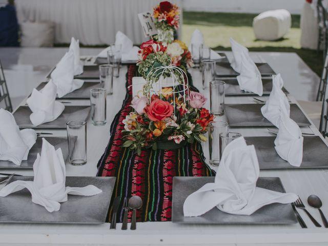 La boda de Alex y Montse en Texcoco, Estado México 4