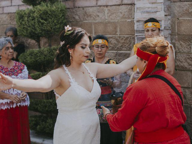 La boda de Alex y Montse en Texcoco, Estado México 8