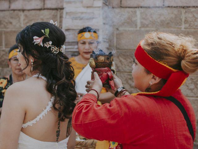 La boda de Alex y Montse en Texcoco, Estado México 9