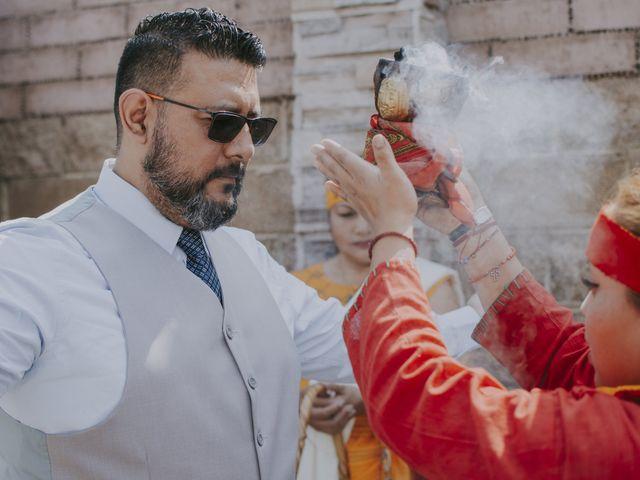 La boda de Alex y Montse en Texcoco, Estado México 10