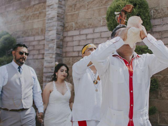 La boda de Alex y Montse en Texcoco, Estado México 12