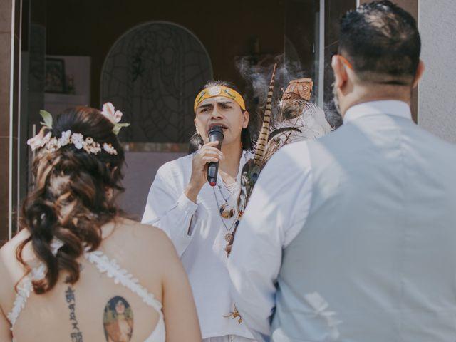 La boda de Alex y Montse en Texcoco, Estado México 14