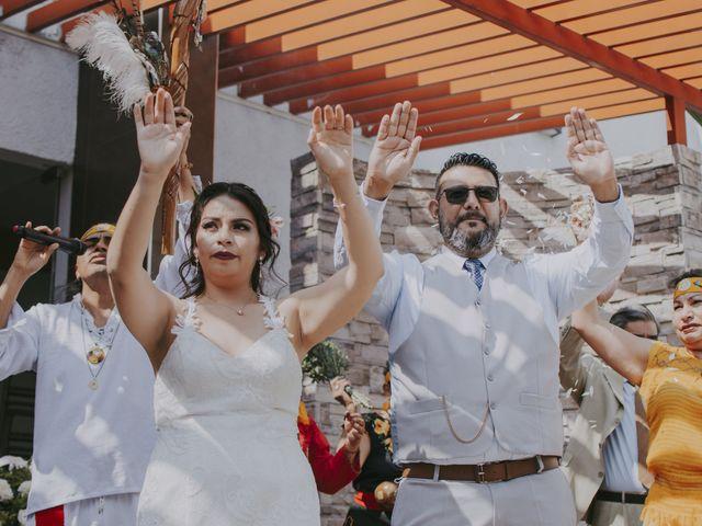 La boda de Alex y Montse en Texcoco, Estado México 15
