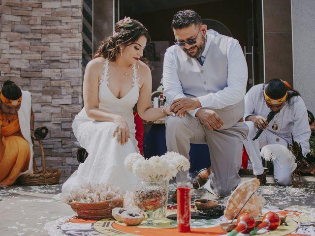 La boda de Alex y Montse en Texcoco, Estado México 16