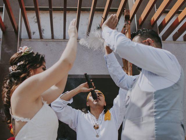 La boda de Alex y Montse en Texcoco, Estado México 17