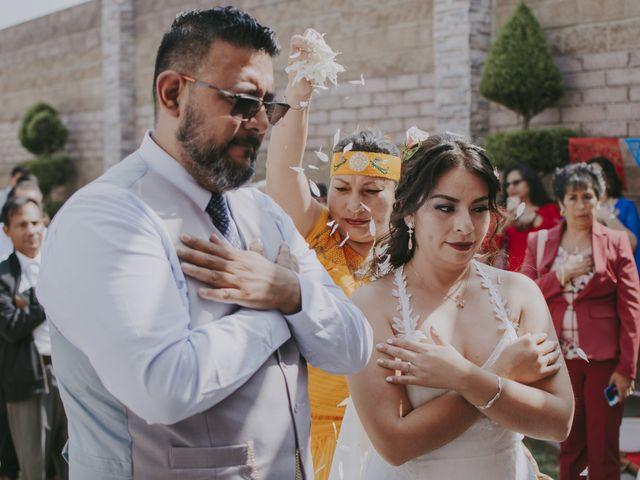 La boda de Alex y Montse en Texcoco, Estado México 18