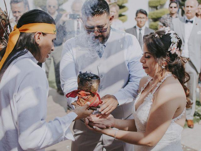 La boda de Alex y Montse en Texcoco, Estado México 19