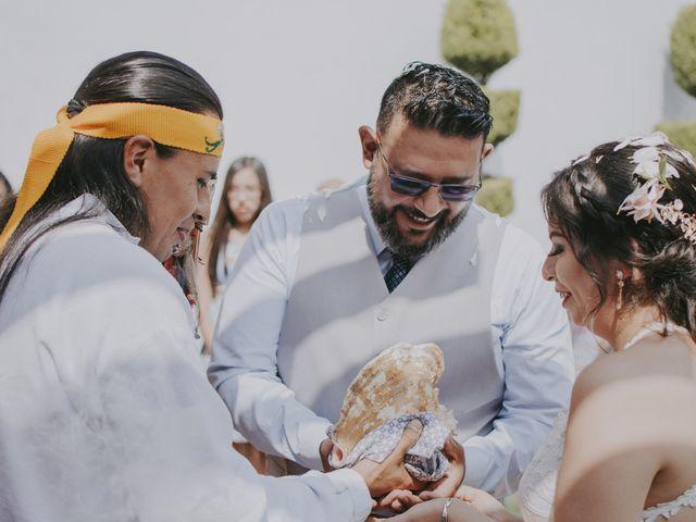 La boda de Alex y Montse en Texcoco, Estado México 24