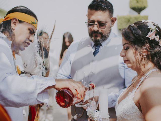 La boda de Alex y Montse en Texcoco, Estado México 28
