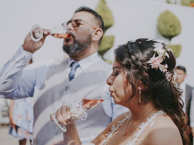 La boda de Alex y Montse en Texcoco, Estado México 29