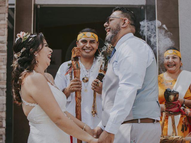 La boda de Alex y Montse en Texcoco, Estado México 30