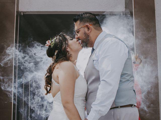 La boda de Alex y Montse en Texcoco, Estado México 1