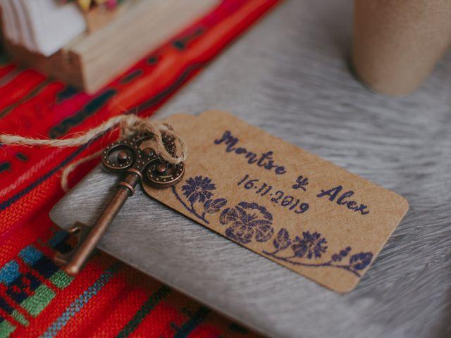 La boda de Alex y Montse en Texcoco, Estado México 32