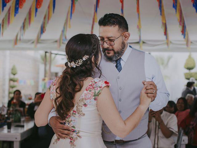 La boda de Alex y Montse en Texcoco, Estado México 34
