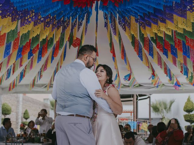 La boda de Alex y Montse en Texcoco, Estado México 35