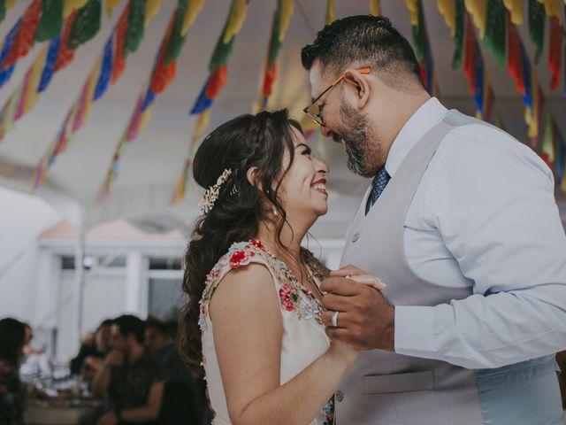 La boda de Alex y Montse en Texcoco, Estado México 36