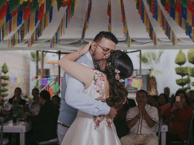 La boda de Alex y Montse en Texcoco, Estado México 38
