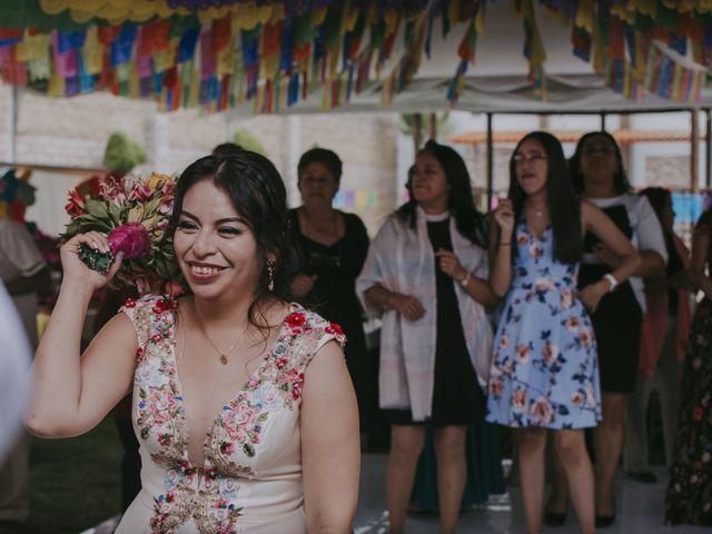 La boda de Alex y Montse en Texcoco, Estado México 39