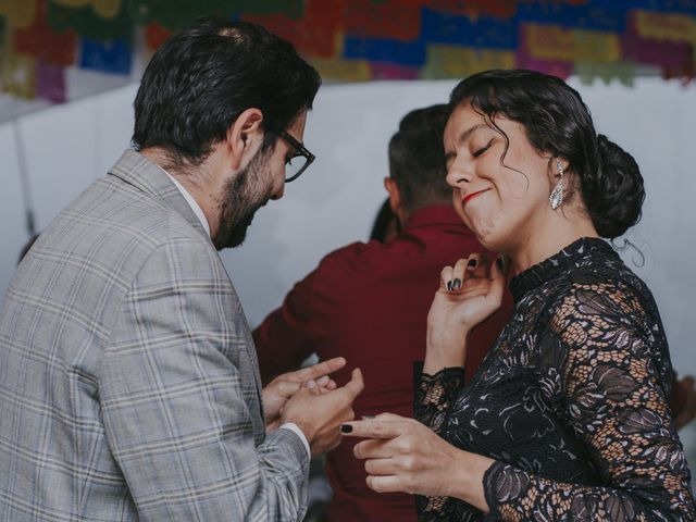 La boda de Alex y Montse en Texcoco, Estado México 43