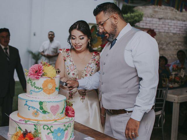 La boda de Alex y Montse en Texcoco, Estado México 45
