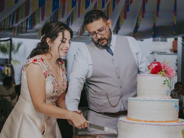 La boda de Alex y Montse en Texcoco, Estado México 46