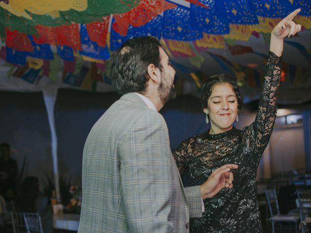 La boda de Alex y Montse en Texcoco, Estado México 48