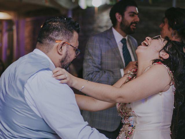 La boda de Alex y Montse en Texcoco, Estado México 54
