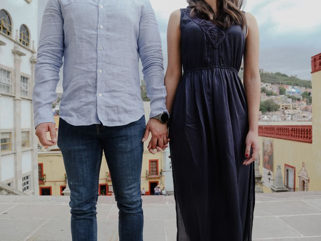 La boda de Fernando y Adriana en Guanajuato, Guanajuato 16