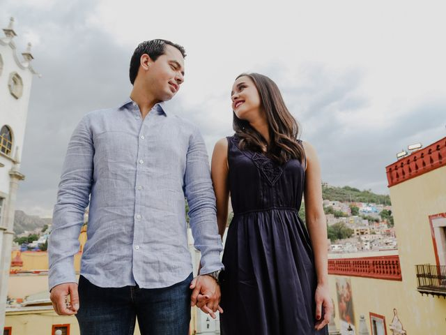 La boda de Fernando y Adriana en Guanajuato, Guanajuato 17
