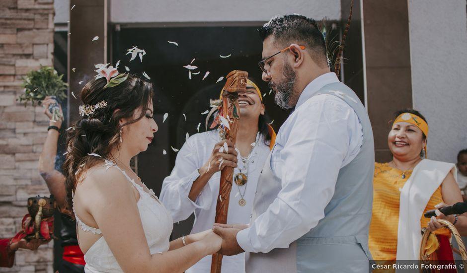 La boda de Alex y Montse en Texcoco, Estado México