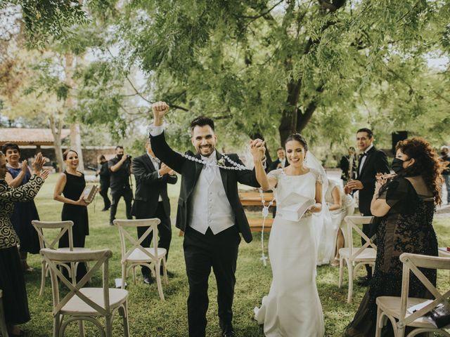 La boda de José Eduardo y Gladys en El Marqués, Querétaro 36