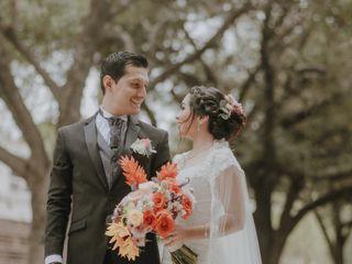 La boda de Samantha y Víctor