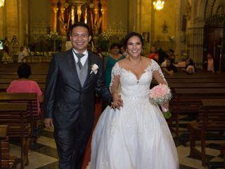 La boda de Angeles y Jonathan