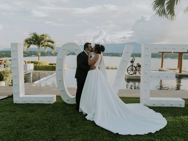 La boda de Claudia y Abraham