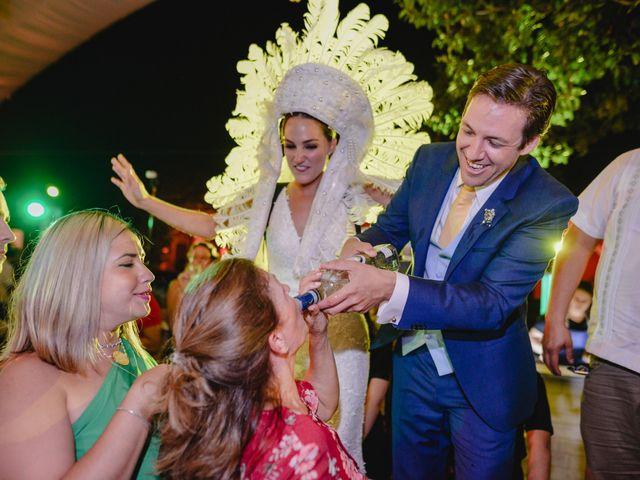 La boda de Rodrigo y Paula en Mérida, Yucatán 134