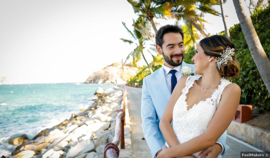La boda de Jorge y Karla en Huatulco, Oaxaca