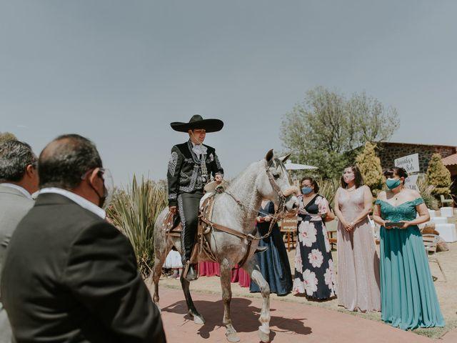 La boda de Alberto y Diana en Soyaniquilpan de Juárez, Estado México 36