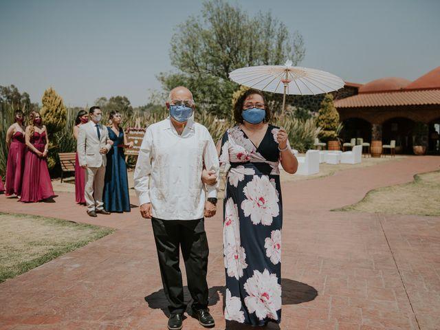 La boda de Alberto y Diana en Soyaniquilpan de Juárez, Estado México 42