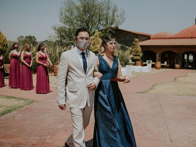 La boda de Alberto y Diana en Soyaniquilpan de Juárez, Estado México 43